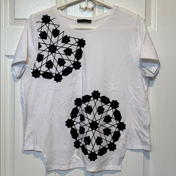 Zara asymmetrical tshirt